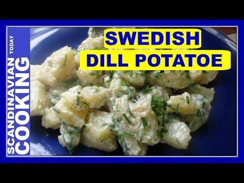 Swedish Dill Potato Salad Recipe 🍴 Dillstuvad Potatis