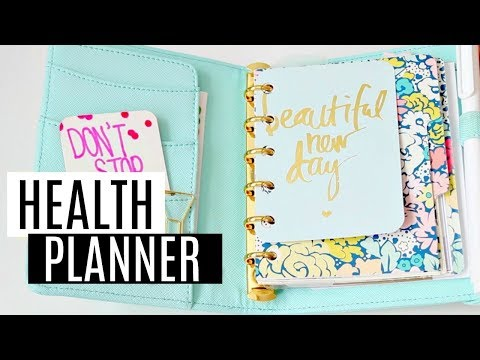 My Health And Fitness Planner! (How I Keep Track of Diet + Exercise)
