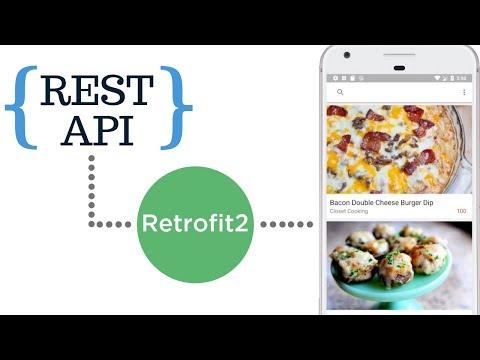 Database Cache, MVVM, Retrofit, REST API demo for upcoming course