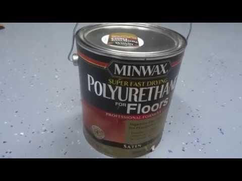 Hardwood floor is updated by MINWAX