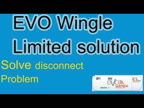 How to fix PTCL 3g evo wingle 9.3 over limited disconnected|Dont this fix