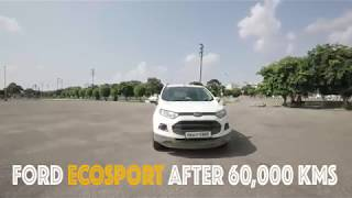 My FORD ECOSPORT (D) after 60,000 KMs | Service Cost - Reliability - Body Noise