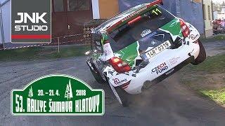 Best of 53. Rallye Šumava Klatovy 2018 (crash & action)