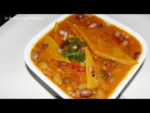 Rajasthani Dal dhokli Recipe - Dal Dokhli Recipe - Spicy Dal Recipe in Tamil