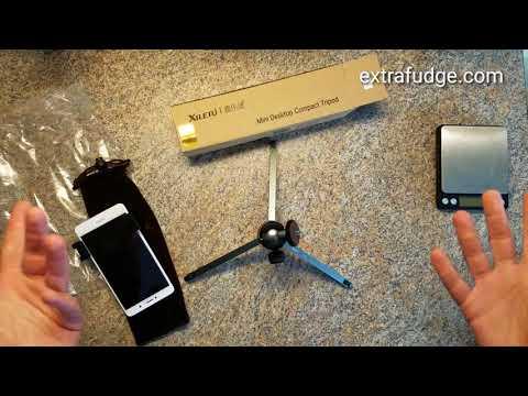 XILETU MT26+XT15 Mini Metal Tripod with Detachable Ball head 360 Degree Rotation Review