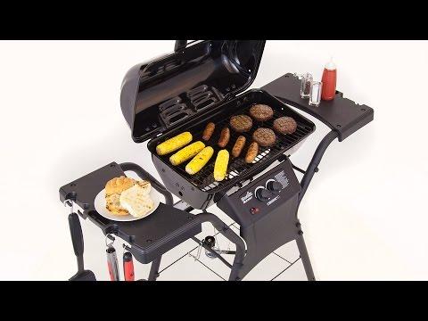 Char-Broil Quickset 2-Burner Gas Grill