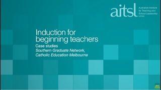 A network for beginning teachers – Southern Graduate Network