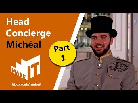 HEAD CONCIERGE Pt.1  |  Make It into: Hotels