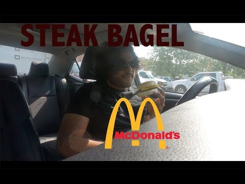 Mcdonalds Steak, Egg and Cheese Bagel