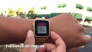 Eventbrite for Pebble Time