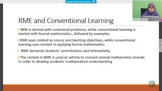 SEAQiM - Meaningful Learning with Realistic Mathematics Education
