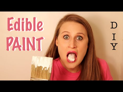 How To Make Edible Paint