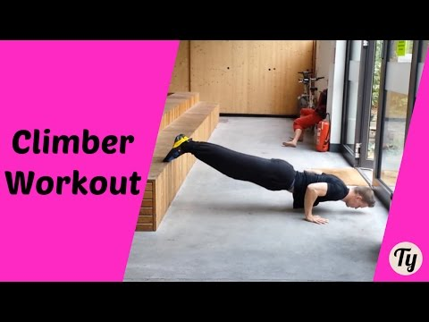 COMPLETE Workout - Climbing & Bouldering Push Routine (no more Muscle Imbalance!)