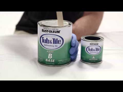 How to Video: How To Refinish your Bathroom Tub and Tile