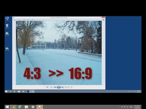 Change Aspect Ratio of a Pic in Photoshop (16:9)