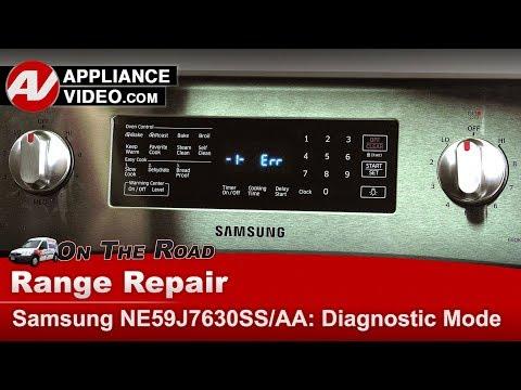 Samsung Range / Oven - Diagnostic Mode and Error codes