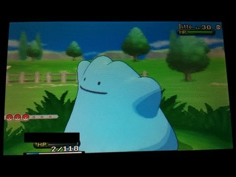 Pokemon X and Y Live Shiny Ditto