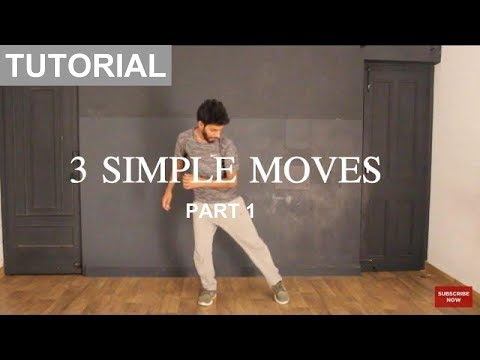How to Dance | Basic Dance Steps for beginners | 3 Simple Moves