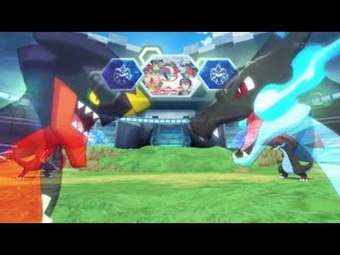 Pokémon XY&Z Mega Charizard X Vs Mega Garchomp【AMV】