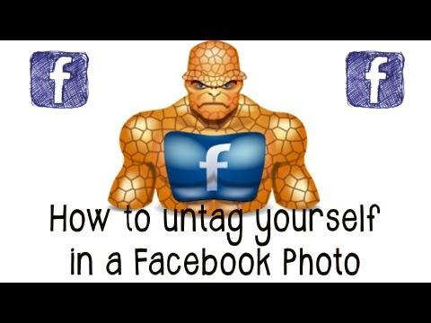 How to Untag Yourself in Facebook Photos - Facebook Tutorial