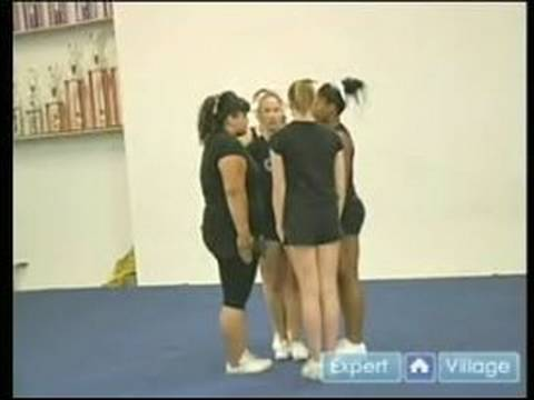 Advanced Cheerleading; Tips & Techniques : How to Do an Individual Stunt in Cheerleading