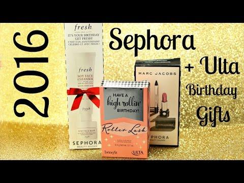 2016 Sephora + Ulta Birthday Gifts!
