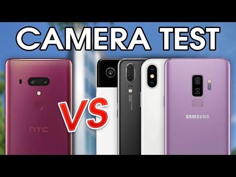 HTC U12+ vs Pixel 2, iPhone X, Galaxy S9+ & P20 - Camera Test Comparison!