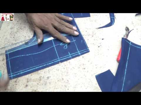 How To Cut a Princess Cut Blouse:Step By Step Saree Blouse(Choli)Cutting Method Tutorial