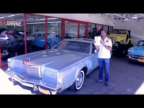 1979 Lincoln Continental Mark V Cartier Edition for sale with test drive, driving sounds