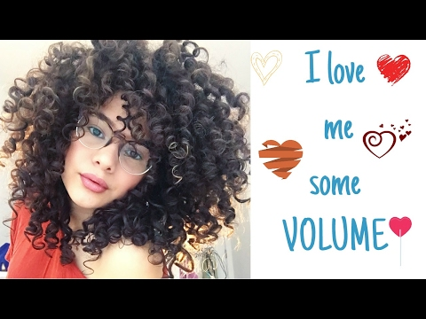 How to Get MORE Volume | NATURAL CURLY HAIR