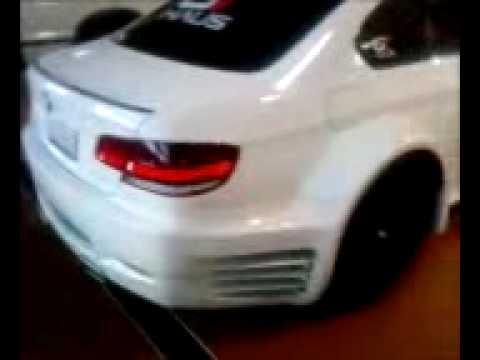 2008 BMW M3 exhaust sound clip