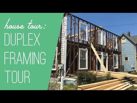 Duplex Exterior Demo & Framing Tour