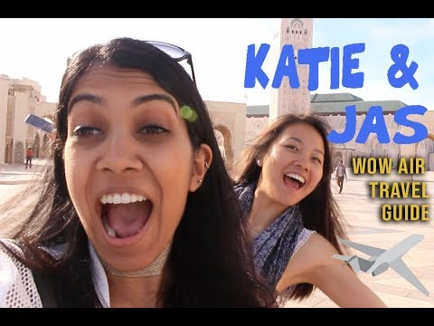 WOW Air Travel Guide Application | Katie & Jas
