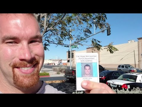 How to Get a Sheriff's Card for a Job in Las Vegas