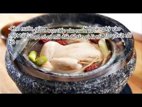 Teaching cooking chicken ginseng frequency