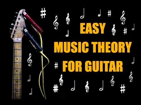 EASY MUSIC THEORY FOR GUITAR!