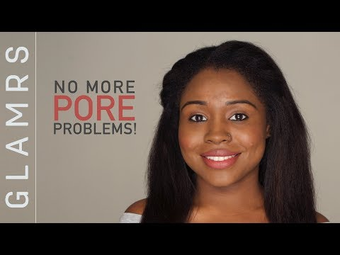 How To Hide Large Pores & Make Them Disappear With Makeup | Foundation Routine For Oily Skin