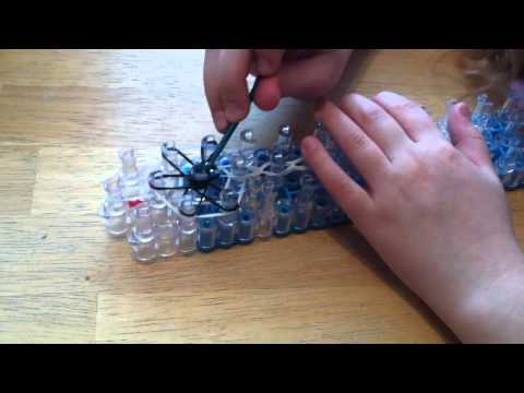 How to make a Rainbow Loom Starburst Ring- Easy for Beginners
