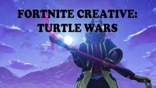 fortnite creative turtle wars map code gameplay - fortnite zone wars map