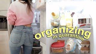 ORGANIZE WITH ME in quarantine lol