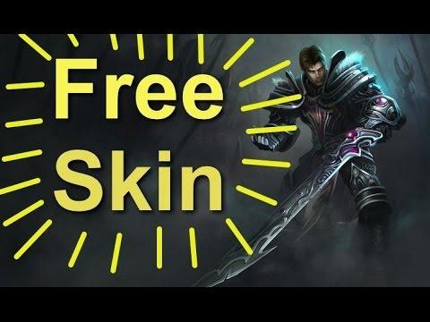 League Of Legends Dreadknight Garen Free Skin