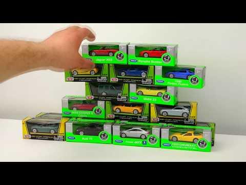 Unpacking Little Cars Toys. Video For Kids.