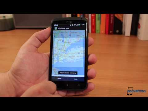 Google Maps Offline For Android Walkthrough