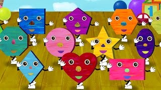 Shapes Song 31 Kids Songs And Videos