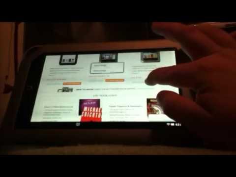 Nook Tablet Web Browser Review