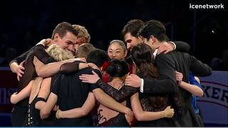 Presentation of 2018 US Olympic Team - 2018 US Nationals Gala Intermission 3 NC