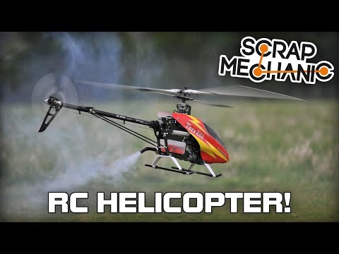 Building a Remote Control Helicopter! (Scrap Mechanic Live Stream)