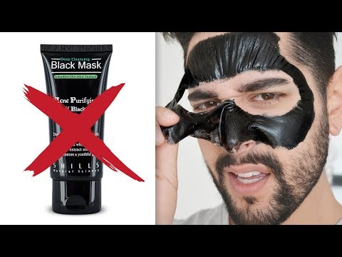 Why You Should Stop Using CHEAP / DIY Peel Off Masks - Black Peel Off Mask Review ✖ James Welsh