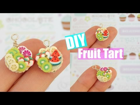 Easy Fruit Tart Polymer Clay Tutorial! | PastelPandaz
