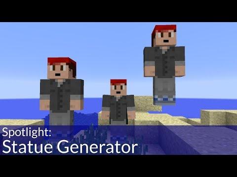 Statue Generator in Vanilla Minecraft